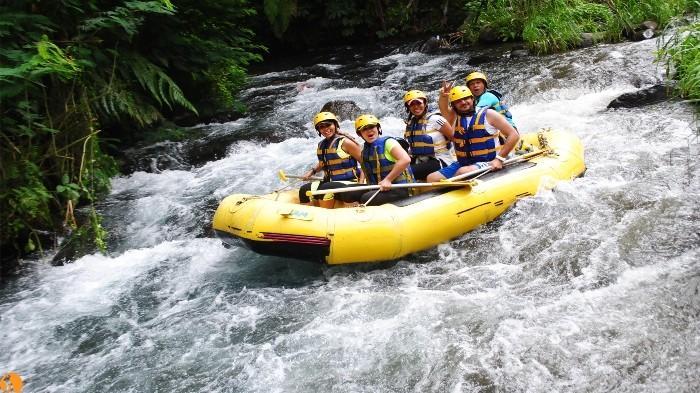 Serunya Rafting di Bali - Surga Selain Pantai, Sungai di Karangasem Ini Bisa Jadi Pilihan Untuk Bangkitkan Adrenalinmu!