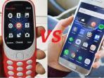 Adu Ketangguhan, Nokia 3310 Reborn Berhasil Kalahkan Samsung Galaxy S7 Edge! Ini Penjelasannya!
