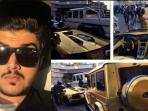 Bikin Geger! Berlibur ke London, Miliarder Muda nan Tampan Asal Arab Saudi Ini Bawa Pulang Mobil-mobil Berlapis Emas!