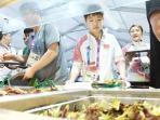 Jadi Incaran dan Favorit Para Atlet, Ini Deretan Makanan yang Tersaji di Asian Games 2018