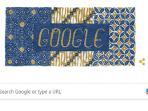 Google Memeriahkan Hari Batik Nasional Lewat Tampilan Google Doodle