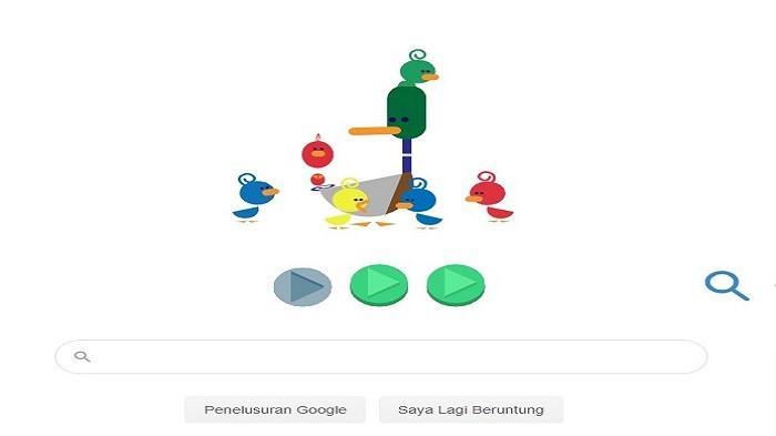 Lewat Animasi, Google Doodle Ikut Peringati Hari Ayah Nasional 2019