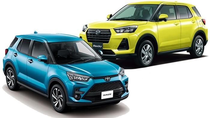 Daihatsu Rocky dan Toyota Raize