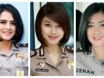 Terlihat Cantik dengan Makeup Tipis, Ini Aturan Berdandan Para Polwan di Indonesia