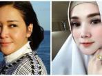 Bandingkan Penampilan Maia Estianty dan Mulan Jameela Saat Liburan di Pantai