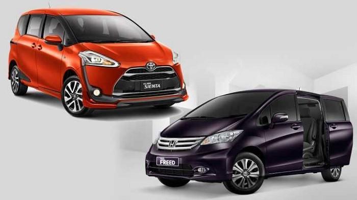 Harga Bekas Terbaru 5 MPV Honda Freed Toyota Sienta dan