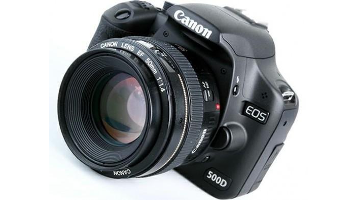 Canon EOS 500D   zonakamera