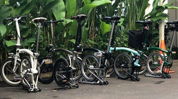 Barangnya Langka karena Musim Gowes, Cek Harga Normal Sepeda Brompton Biar Belinya Nggak Kemahalan