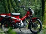 Review Motor Bebek Baru Honda CT125, Dijual Segini di Indonesia