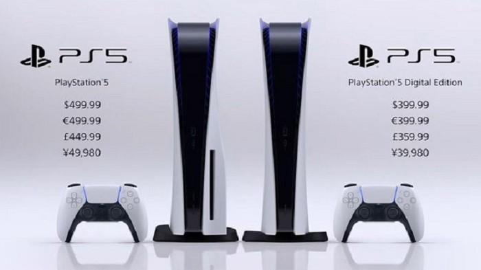 Resmi Dijual di Indonesia 19 November, Simak Harga PS 5 Versi Standard Edition dan Digital Edition.