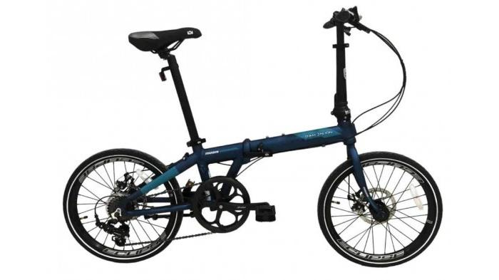 Ringkas, Mudah Dibawa dan Terjangkau, Cek Harga Sepeda Lipat Dahon Ion 2020