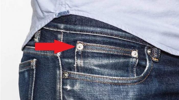 Perhatikan Benda Kecil Seperti Kancing yang Ada di Saku Sebelah Kanan Celana Jeans Kalian, Ini Lo Fungsinya