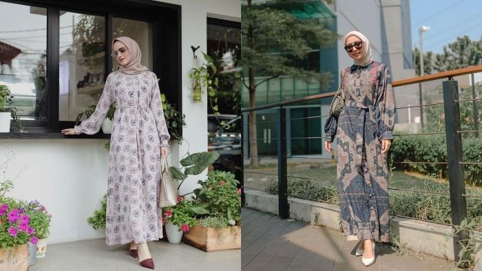 5 Rekomendasi Ide Dress Bermotif Ala Selebgram Cocok untuk Lebaran Agar Tampil Modis