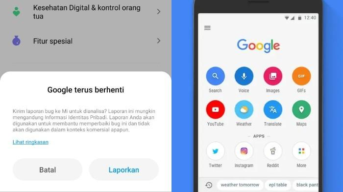 Jangan Panik, Begini Cara Mudah Mengatasi Aplikasi Google yang Terus Berhenti