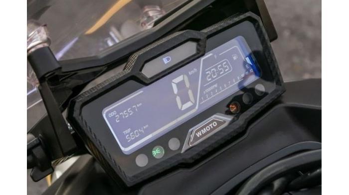 Paultan.org | Panel instrumen digital LCD WMoto Xtreme 150i