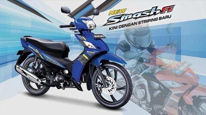 Tidak Ada Kenaikan, Cek Harga Motor Bebek Suzuki New Smash FI OTR Jakarta Agustus 2021